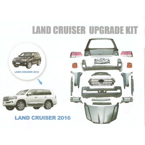 Land cruiser 2008-2015 upgrade to 2016