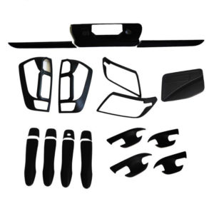 2014-2018 For Nissan Navara Frontier Np300 D23 Accessories Black Kit Full Set For Nissan Frontier Navara 2017