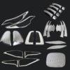 ABS Exterior Chromed Cover Trim Kits For Toyota Fortuner 2016-2017
