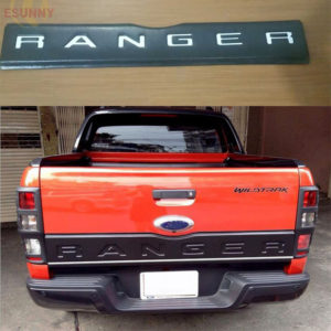 Extra Cover Trim Tailgate Cover For Ranger T6