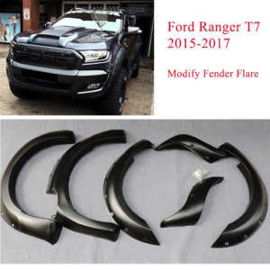 Ford Ranger T7 modify fender flare