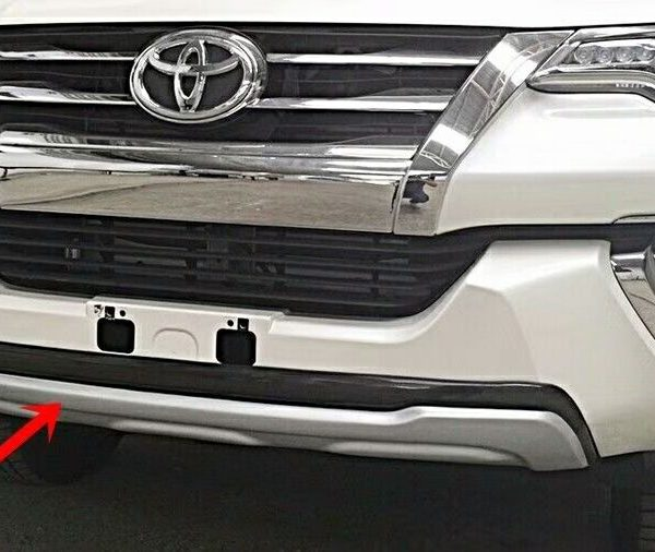 Front And Rear Bumper Guard For Toyota Fortuner 2016 ...