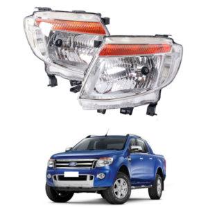 Ford Ranger T6 2012-2014 Pickup Head Light Head Lamp
