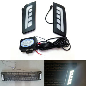 LED DAYLIGHT DAYTIME RUNNING LIGHT BY FITT FOR RANGER T6 2012-2014
