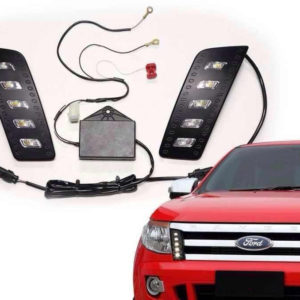 LED Daytime Running Light Fit Ford Ranger T6 Pickup 2012-2014