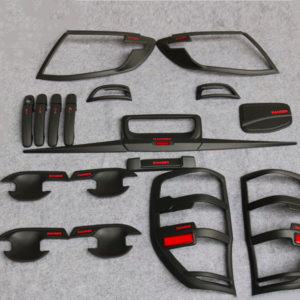 Matte Black kits with red for Ranger 2012