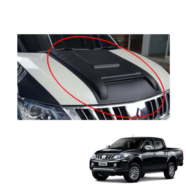 Scoop Hood Vent Cover For Mitsubishi triton 2016