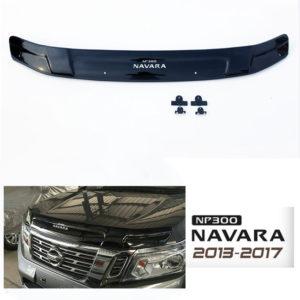 NAVARA NP300 2013-2017 Bonnet guard black
