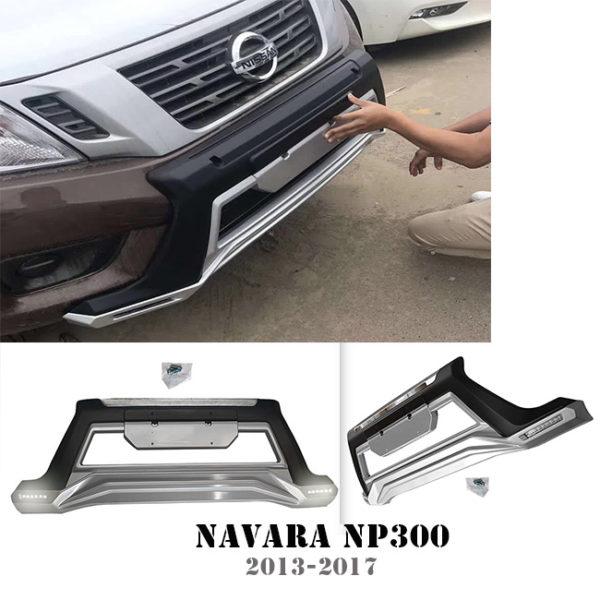 NAVARA NP300 ABS Front bumper guard