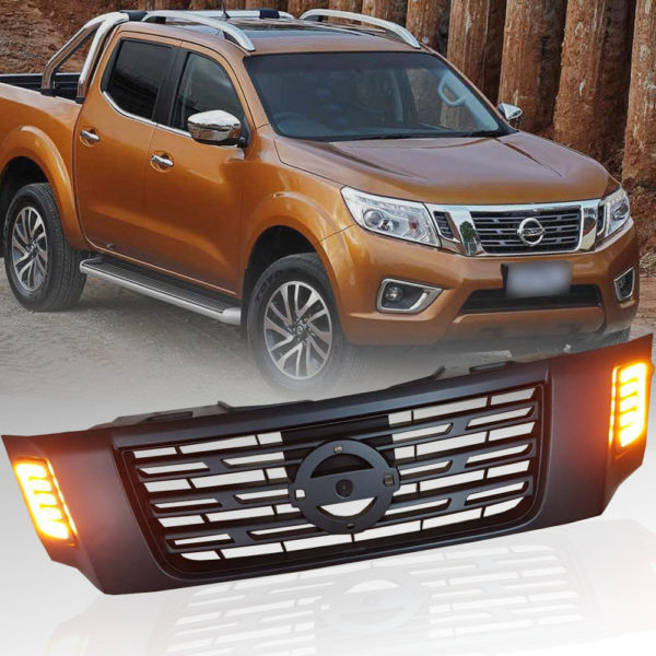 nissan navara np300 front grille grill accessories oem frontier genuine lights 4x4 mesh led pickup matt larger