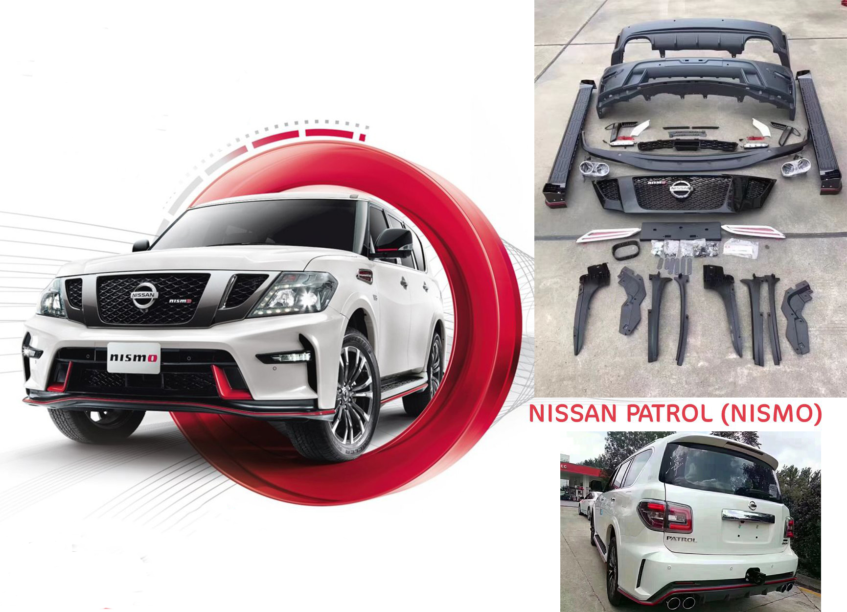 Nissan Patrol Y62 body kits