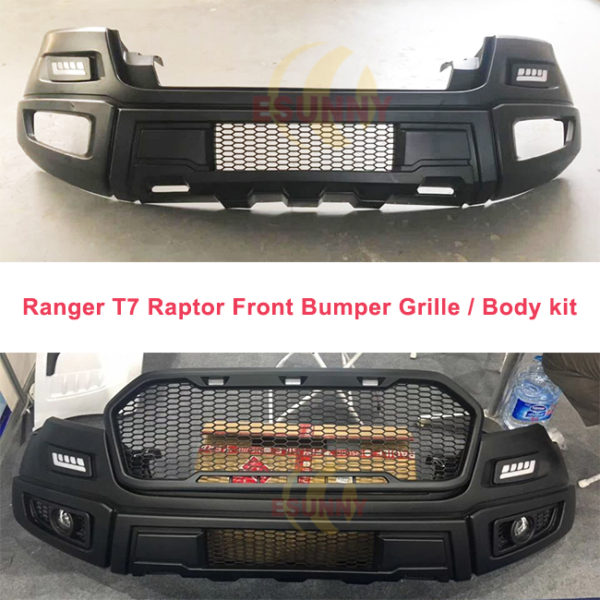 Ranger t7 raptor front bumper grille grill bodykit
