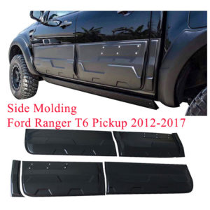 Side molding for Fit Ford Ranger T6 Pickup 2012-2017