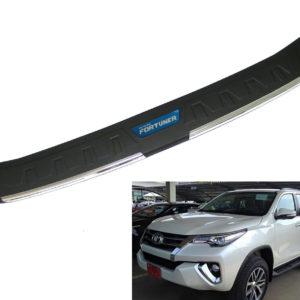 TAILGATE REAR BUMPER PROTECT USE FOR TOYOTA FORTUNER SUV 2016 2017