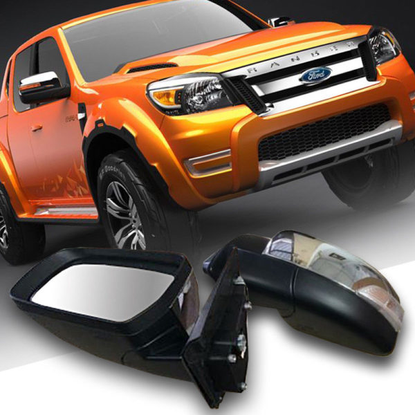 Ford Ranger 2012-2014 T6 Rear View Side Mirror With Turn Signal LED Light