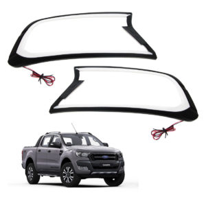 Ford Ranger T7 Head Light Cover With Light
