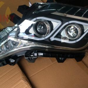 For 2014-2015 Toyota Landcruiser Prado LED Headlights With Bi-Xenon Projector