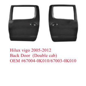 Hilux vigo 2005-2012 back door (Double cab)