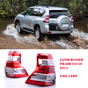 Toyota Land Cruiser Prado FJ150 Tail Light Set 2014-2017