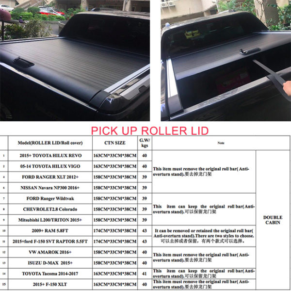 Pick up roller lid