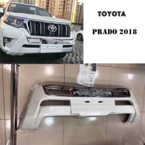 Prado 2018 front bumper guard