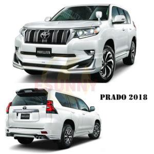 Prado 2018 modellista bodykit