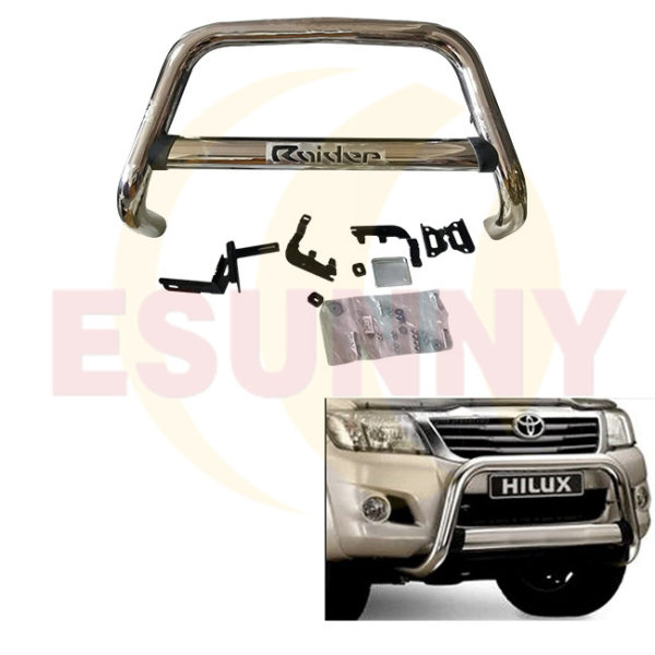 Hilux Vigo 2012 Stainless Steel Front Bumper Bull Bar Grille Guard