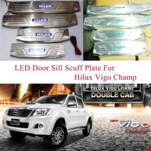 Toyota Hilux Vigo 2012 scuff plate