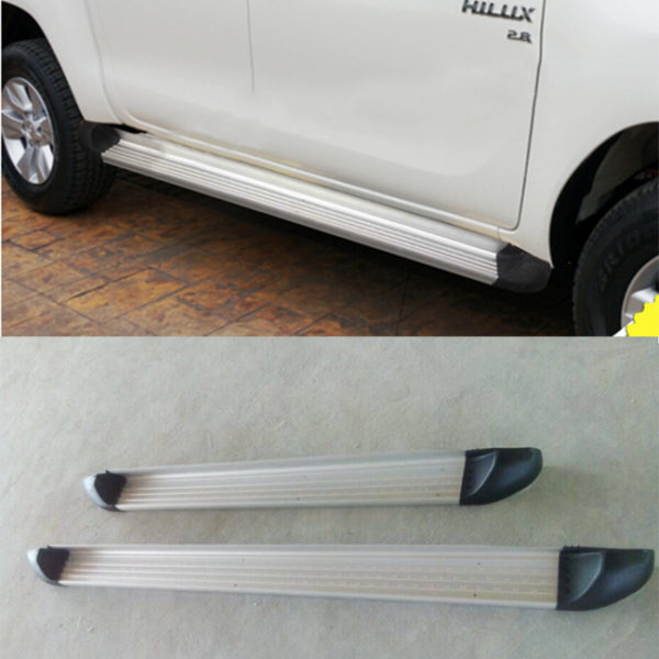 Aluminium Running Board Side Step For Hilux Revo M80 M70 SR5