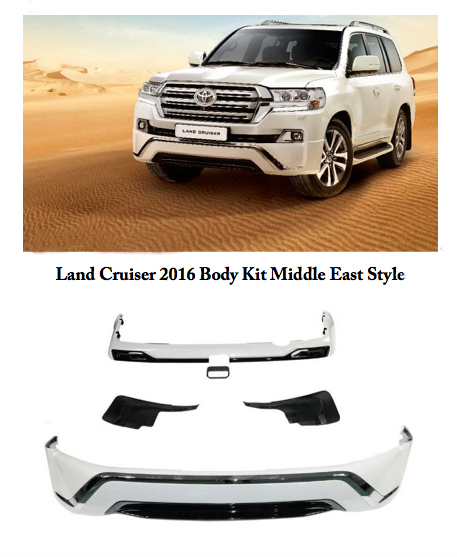 Body Kit Middle East Style For Land Cruiser 2016 FJ200