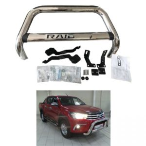 Stainless Steel Nudge Bar Front Grill Guard For Hilux Revo RAIDER M80 M70 SR5