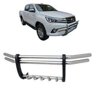 Stainless Steel Grille Guard Front Grill Guard For Hilux Revo M80 M70 SR5