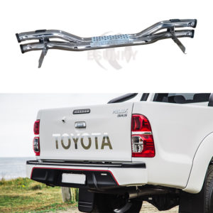 hilux vigo 12 rear bumper