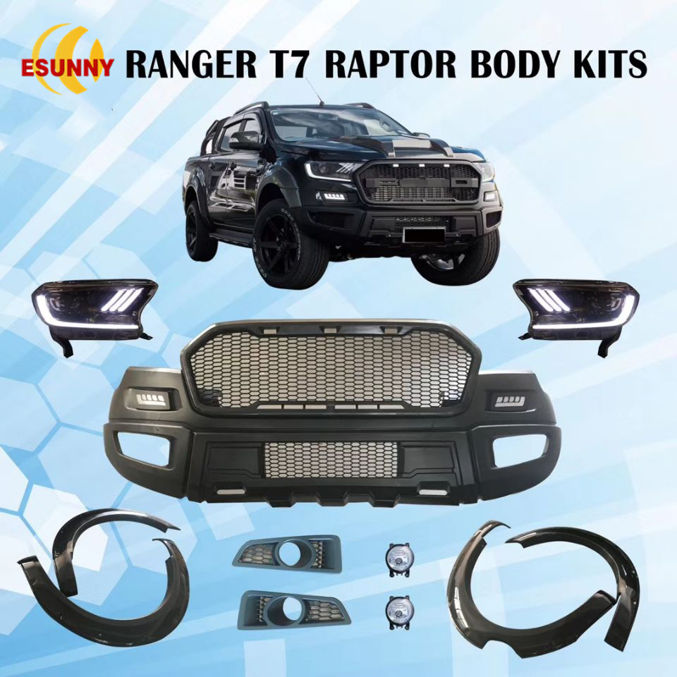 Ford Raptor For Sale >> Ford Ranger T7 Raptor Body Kit - 4x4 Pickup Accessories China Exporter