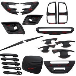 Hilux Revo 2016 M80 M79 SR5 Black Kits Set